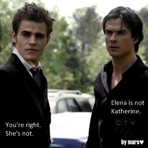 Elena is not Katherine