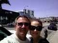 Emily at lunch with Hart Hanson - emily-deschanel photo