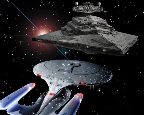 Enterprise-d v star destroyer