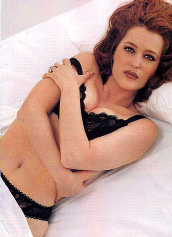 gillian anderson wallpaper titled FHM Shoot 1996
