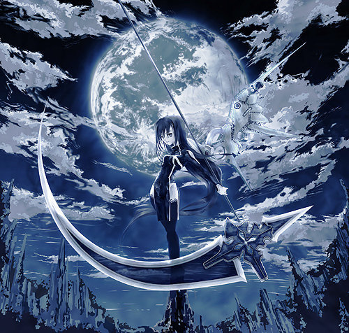 ragazze Anime wallpaper called Female An!Me Grim reaPeR