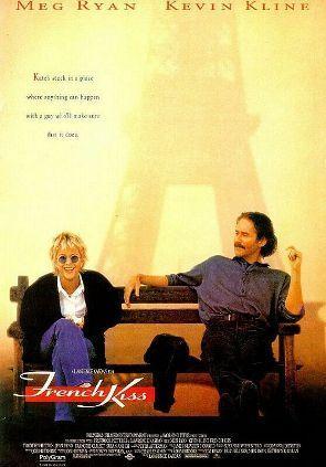 Filme der 90er Hintergrund titled French KISS - Poster