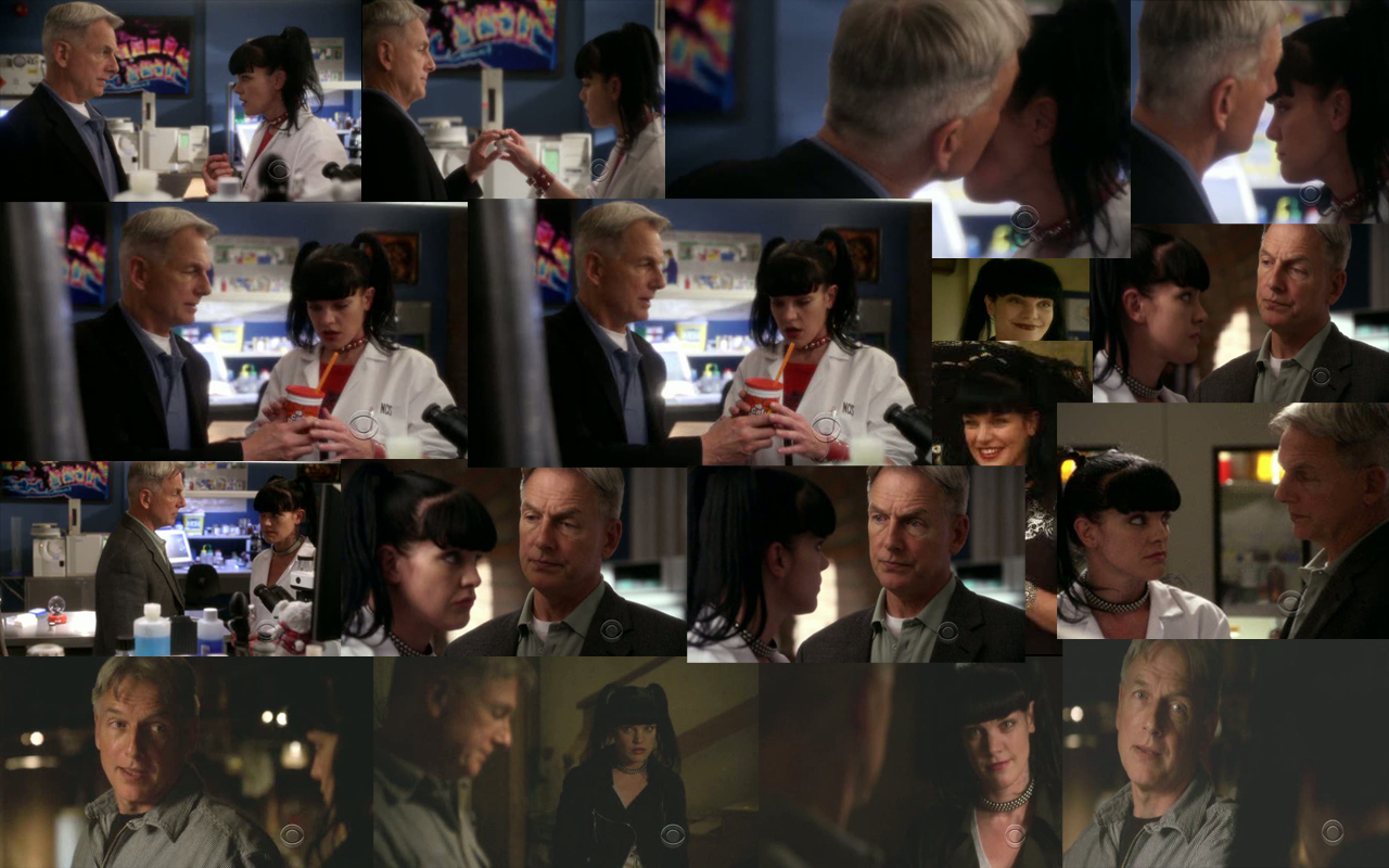 GIBBS AND ABBY COLLAGE 7X22