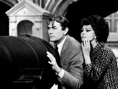 Gregory Peck And Sophia Loren