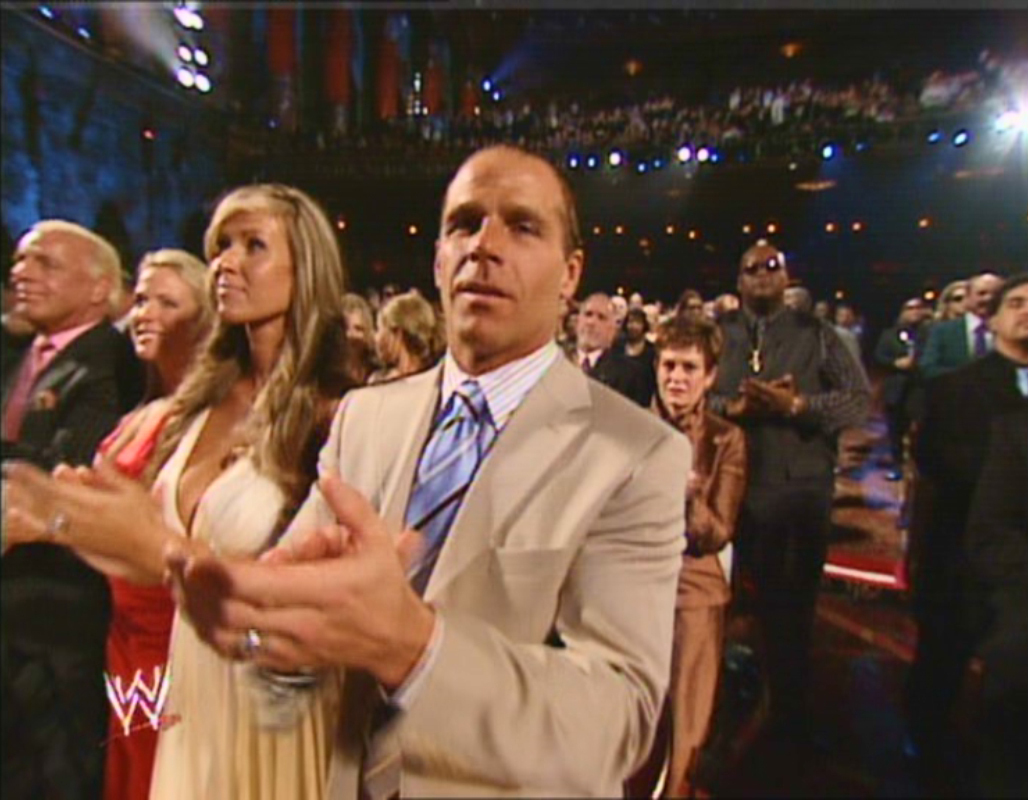 Shawn Michaels with beautiful, Wife Rebecca Curci-Michaels