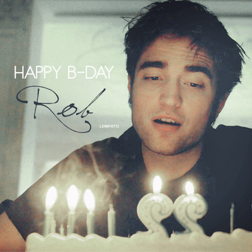 Happy B-day, my Rob <3