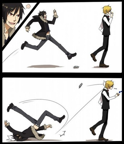 Izaya and Shizuo Part 2 - durarara Fan Art