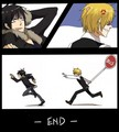 Izaya and Shizuo Part 3 - durarara fan art