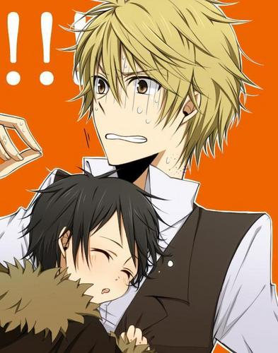 Durarara!! images Izaya and Shizuo wallpaper and ...