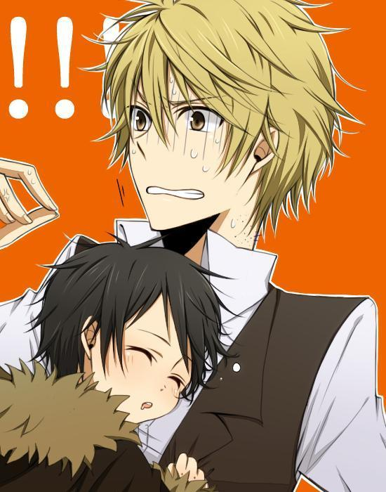 Izaya and Shizuo - Durarara!! Fan Art (12185722) - Fanpop