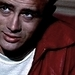 James Dean as Jim Stark in 'Rebel Without A Cause'