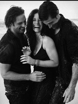 Josh, Evi and Matt