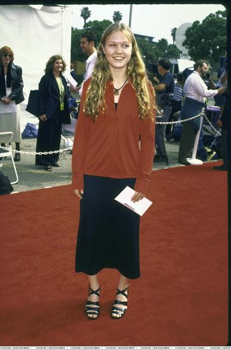 Julia Stiles at the Independent Spirit Awards in 1997