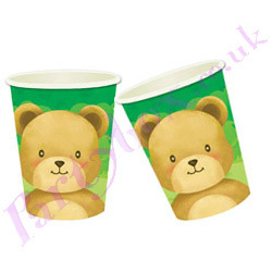 LOOK TEDDYBEAR CUPS FOR OUR PICNIC !