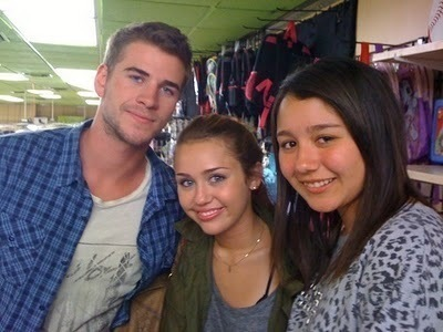 Liam and miley fan photo