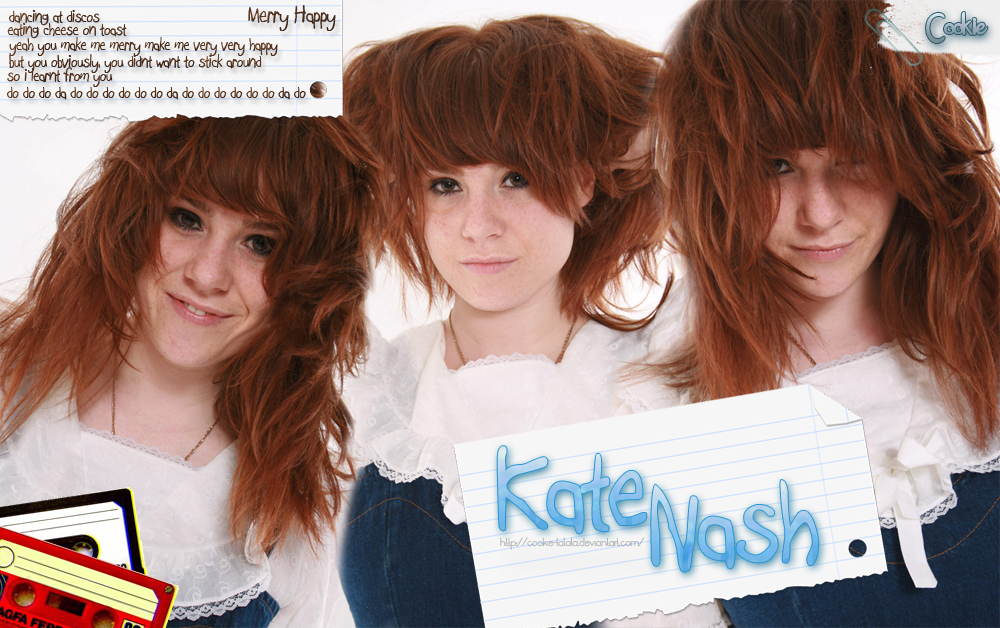 Merry Happy Kate Nash Fan Art 12168762 Fanpop