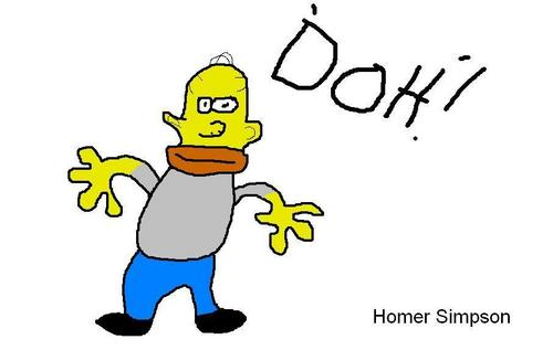 My Simpson fan art 1 homer - the-simpsons Fan Art
