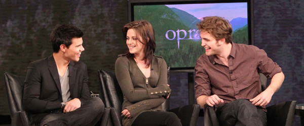 NEW Picture of Rob, Kristen and Taylor on Oprah