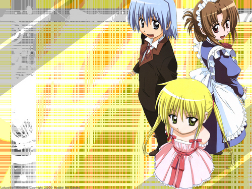 Hayate The Combat Butler images Nagi with Hayate and Maria! HD wallpaper and background photos