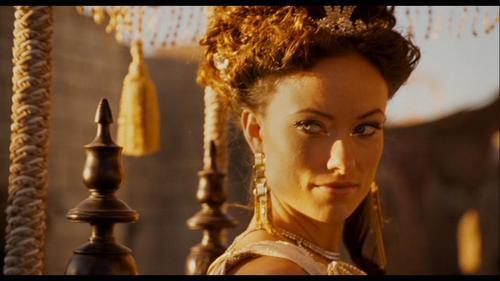 Olivia Wilde Hintergrund titled Olivia Wilde as Princess Inanna in 'Year One'