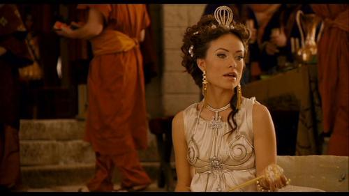 Olivia Wilde wallpaper called Olivia Wilde as Princess Inanna in 'Year One'