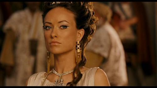 Olivia Wilde Hintergrund called Olivia Wilde as Princess Inanna in 'Year One'