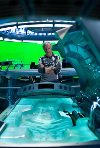 On the set of Avatar