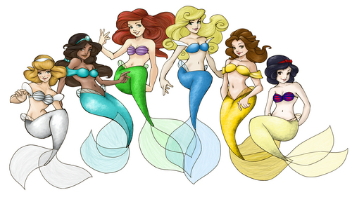 Princess Mermaids