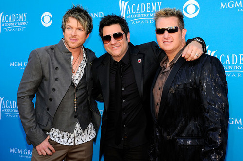 Rascal Flatts ACM awards arrivals