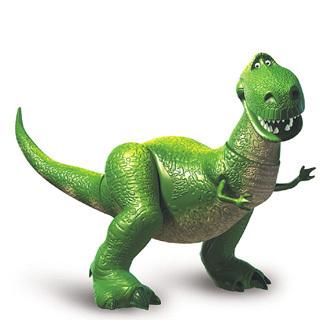 Rex the Green Dinosaur
