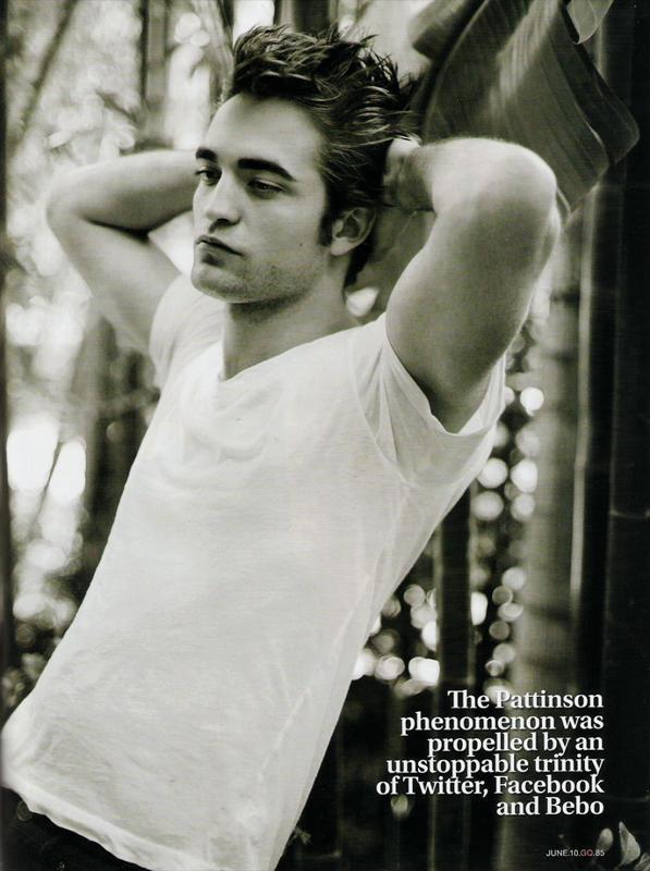 Robert Pattinson in GQ Africa