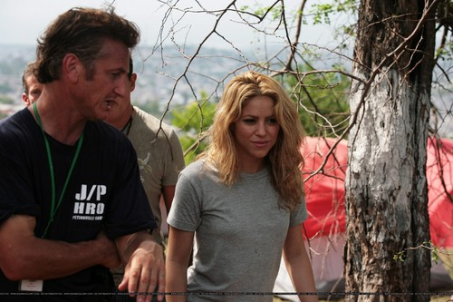Шакира visits Port-Au-Prince, Haiti - April 11