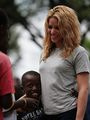 Shakira visits Port-Au-Prince, Haiti - April 11
