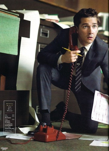 Shia in GQ Scans (April 2010)