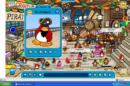 THERE'S ROCKHOPPER