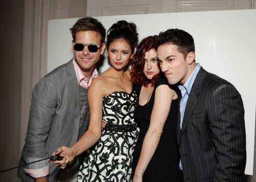 TVD Cast Backstage At The Young Hollywood Awards