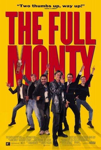 The Full Monty - Poster
