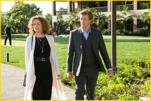 The Mentalist 2.22 - Red Letter, promotional pics