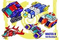 The Volt machines - voltes-v fan art