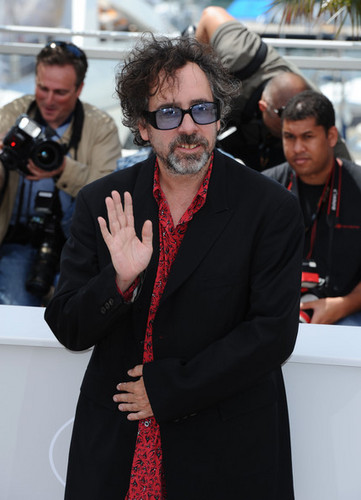Tim बर्टन @ the Jury Photocall @ the 63rd Cannes Fim Festival