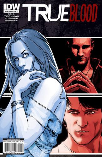 True Blood Comic Book Предварительный просмотр