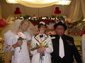 Vicki &amp; Misha renew their vows @Albertsons - misha-collins photo