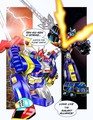 Voltes V vs Voltron (The Skysword strike) - voltes-v fan art