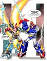 Voltes V vs Voltron (The V-Strike)