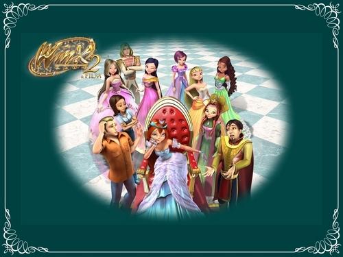 Winx Club Movie wallpaper entitled Winx Movie 2-Magic Adventure-