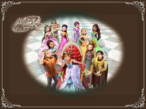 Winx Club Movie wallpaper called Winx Movie 2-Magic Adventure-