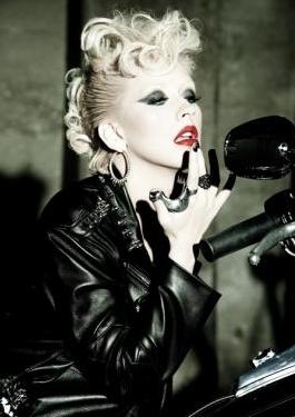 Christina Aguilera wallpaper entitled Xtina Latina Photoshoot