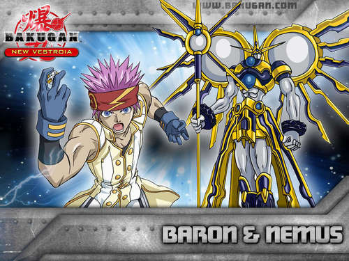 baron - bakugan-new-vestroia Wallpaper