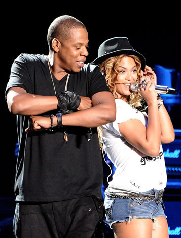 beyonce and gaio, jay z