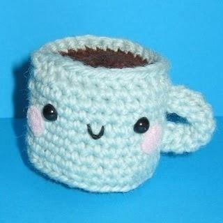 blue cup! So cute!